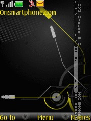 Nokia X2 Music theme screenshot