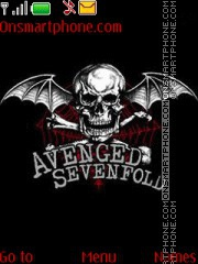Avenged Sevenfold 03 theme screenshot