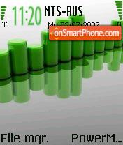 Green Gray theme screenshot