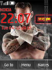 CM Punk 01 theme screenshot
