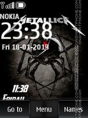 Metallica 25 es el tema de pantalla