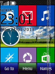 Windows 8 14 theme screenshot