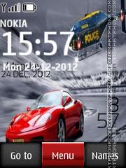 Cool Nfs Digital theme screenshot
