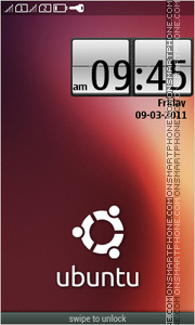 Ubuntu Theme tema screenshot