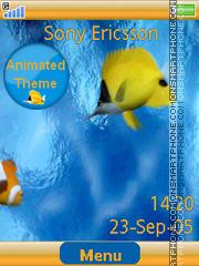 Tropical Fish es el tema de pantalla
