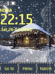 Animated Snowfall theme screenshot