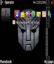 Transformer logo by Prasanta es el tema de pantalla