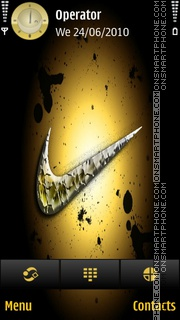 Nike01 theme screenshot