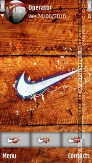 Nike02 theme screenshot