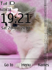 Cute Kittens tema screenshot