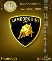 Lamborghini Logo es el tema de pantalla