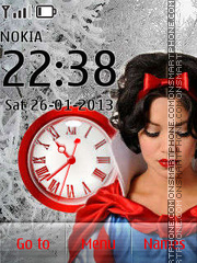 Snow White tema screenshot