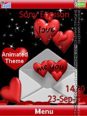 Love Letter es el tema de pantalla