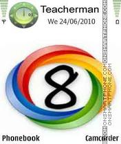 Windows 8 Colors theme screenshot