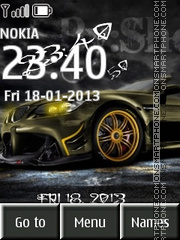 Nfs Car Tuning theme screenshot