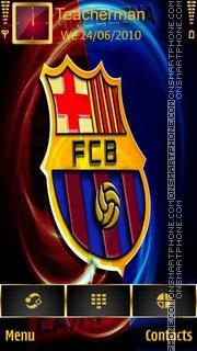 Barcelona 2013 logo es el tema de pantalla