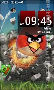 Angry Birds 2024 theme screenshot
