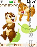 Chip and Dale 06 es el tema de pantalla