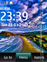 Beach Digital theme screenshot