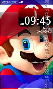 Mario Full Touch theme screenshot