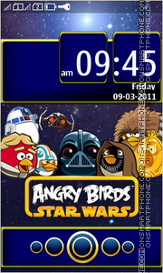 Angry Birds Star Wars Full Touch es el tema de pantalla