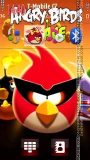 Angry birds hd theme screenshot