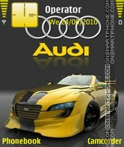 Audi es el tema de pantalla