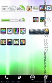 Rainbow ICS es el tema de pantalla
