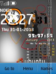 Mobile Ubuntu es el tema de pantalla