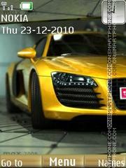 Awesome Car theme screenshot