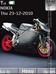 Bike With Tone theme screenshot
