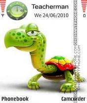 Mr. Turtle es el tema de pantalla