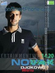 Novak Djokovic es el tema de pantalla