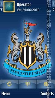 Newcastle United tema screenshot
