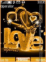 Love ( animated ) theme screenshot