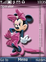 Minnie Mouse theme screenshot