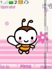 Sweet Bee tema screenshot