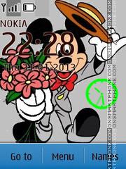 Funny Mickey theme screenshot
