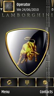 Bull theme screenshot