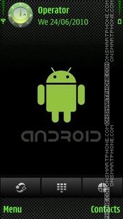 Android tema screenshot
