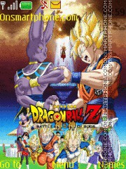 Dragon Ball Z Battle of Gods es el tema de pantalla