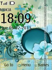 Blue Beautiful Design theme screenshot
