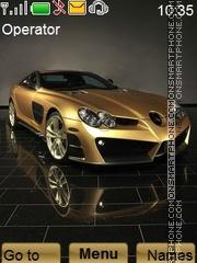 Mercedes Benz theme screenshot