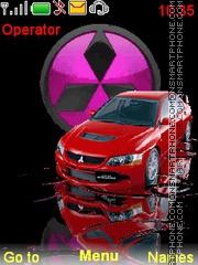 Mitsubishi theme screenshot