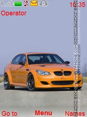 BMW M5 theme screenshot