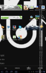Typo Black es el tema de pantalla