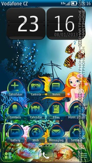 Capture d'écran Mermaid 06 thème