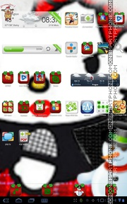 Hello Kitty 43 theme screenshot