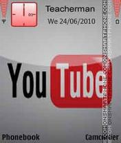 YouTube Logo es el tema de pantalla