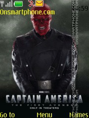 Red Skull theme screenshot